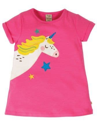 Frugi Unicorn Lizzie Applique Top