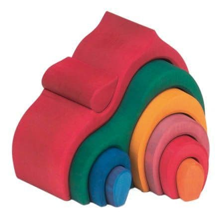 Gluckskafer Gable House Red 9 pieces