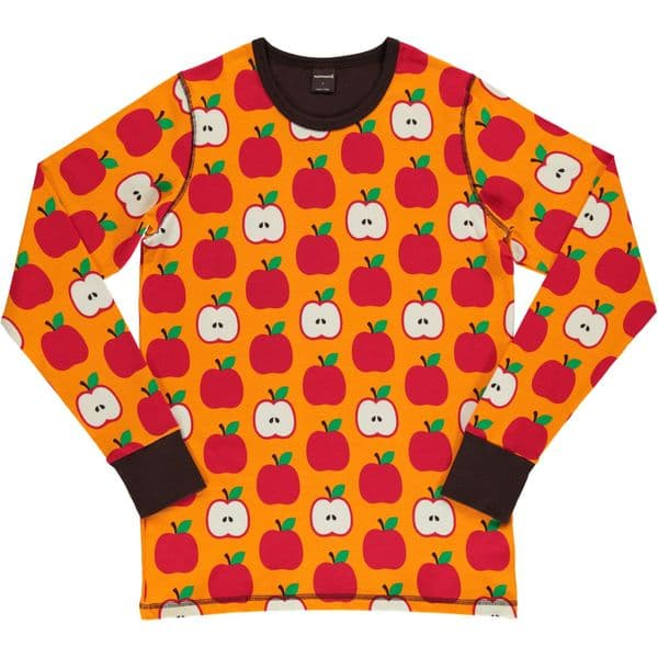 Maxomorra Adult Apples Long Sleeve Top