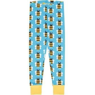 Maxomorra Bumblebee Cuff Leggings