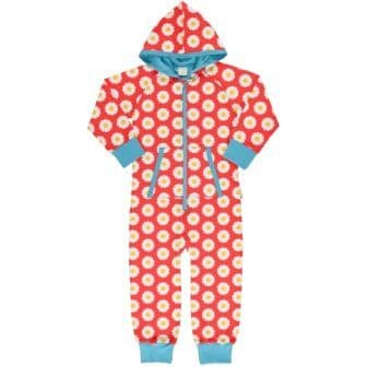 Maxomorra Daisy Hooded Onesie