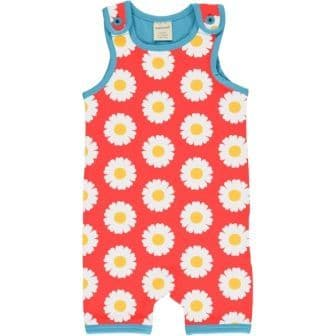 Maxomorra Daisy Short Playsuit