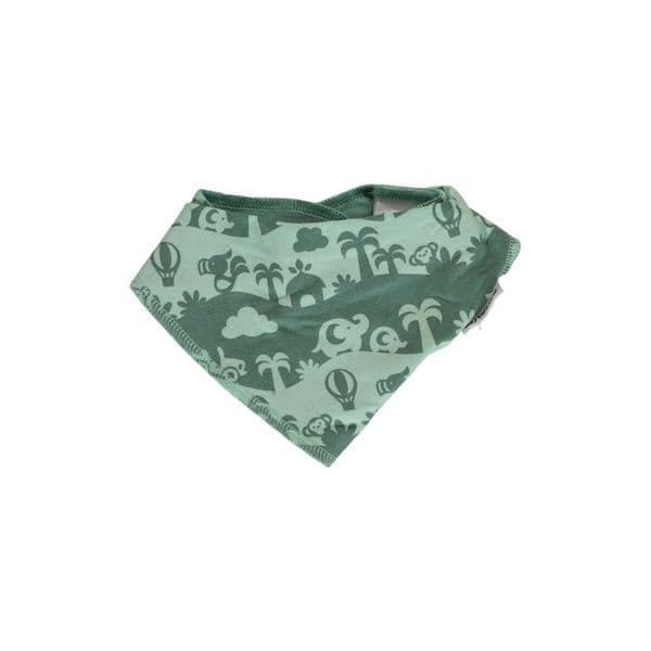 Maxomorra Dribble Bib Jungle Landscape