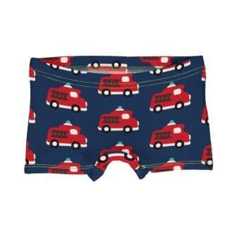 Maxomorra Fire Truck Boxer Briefs