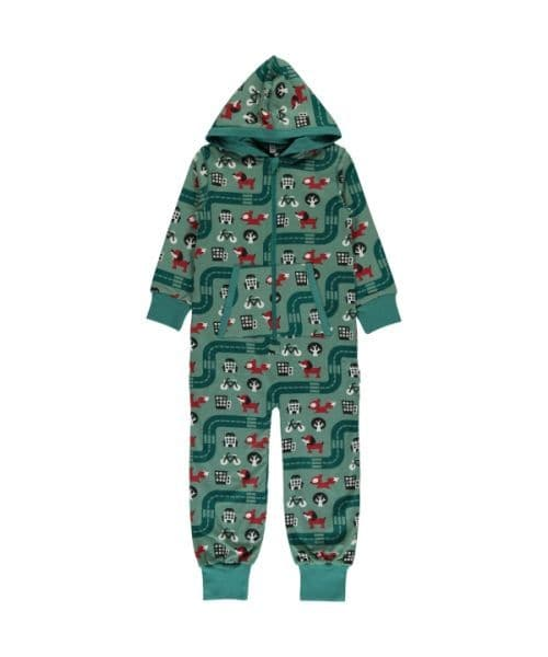 Maxomorra Hooded Onesie Big City