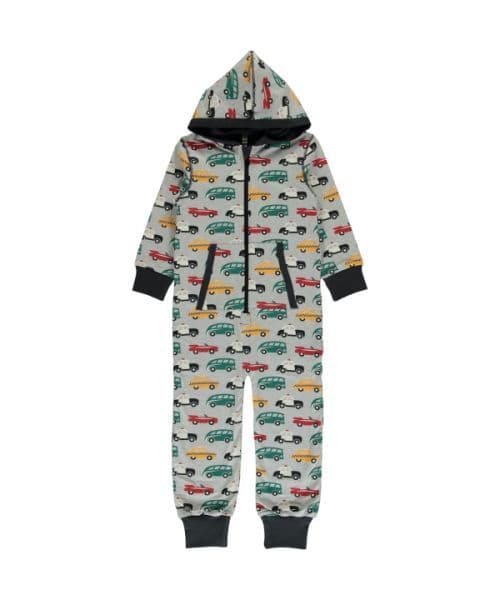 Maxomorra Hooded Onesie Traffic