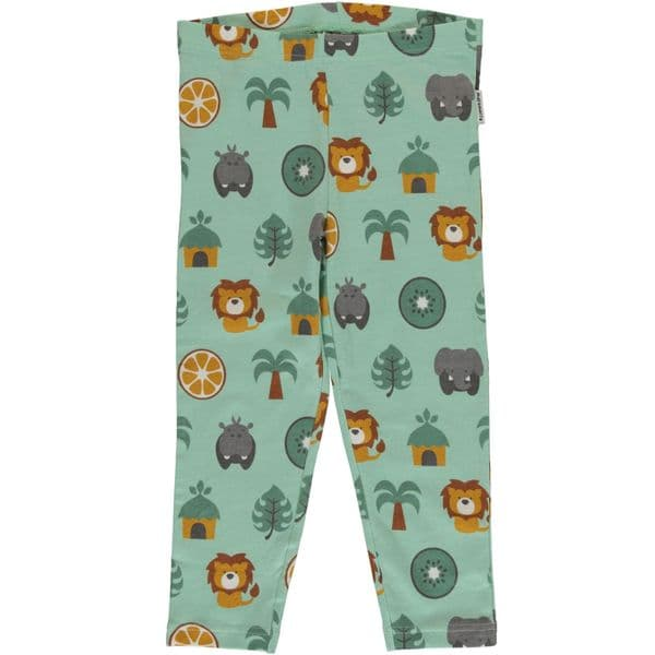 Maxomorra Leggings Cropped Jungle