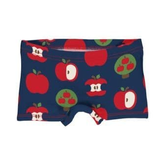 Maxomorra Navy Apple Boxer Briefs