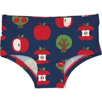 Maxomorra Navy Apple Hipster Briefs