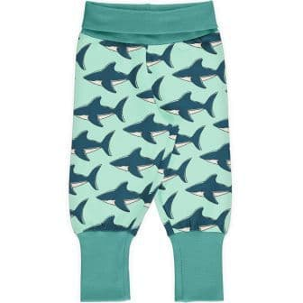 Maxomorra Sharks Rib Pants
