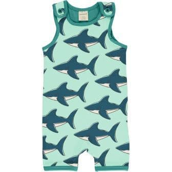 Maxomorra Sharks Short Playsuit