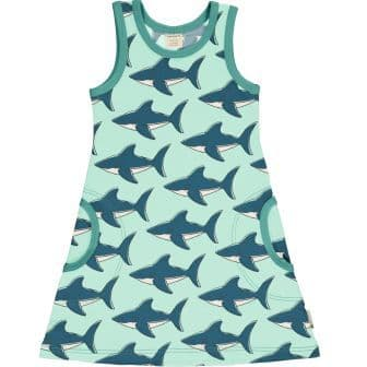 Maxomorra Sharks Sleeveless Dress