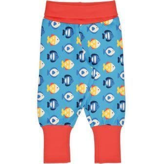 Maxomorra Tropical Aquarium Rib Pants