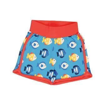 Maxomorra Tropical Aquarium Runner Shorts