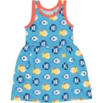 Maxomorra Tropical Aquarium Spin Dress