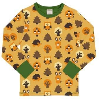 Maxomorra Yellow Forest Top