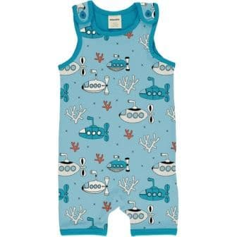Meyadey Submarine Waters Short Playsuit