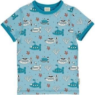 Meyadey Submarine Waters Short Sleeve Top