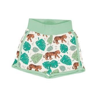 Meyadey Tiger Jungle Runner Shorts