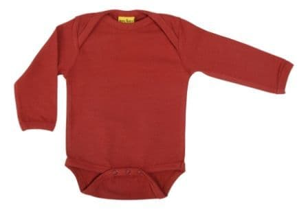 More Than a Fling MTAF Brick Red Long Sleeve Body