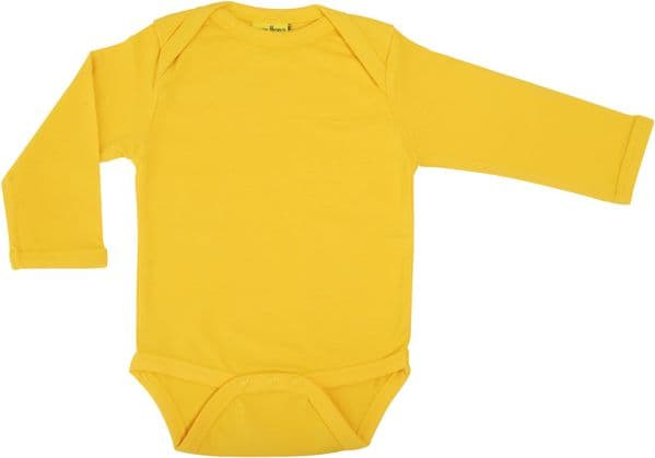 More Than a Fling MTAF Long Sleeve Body Warm Yellow