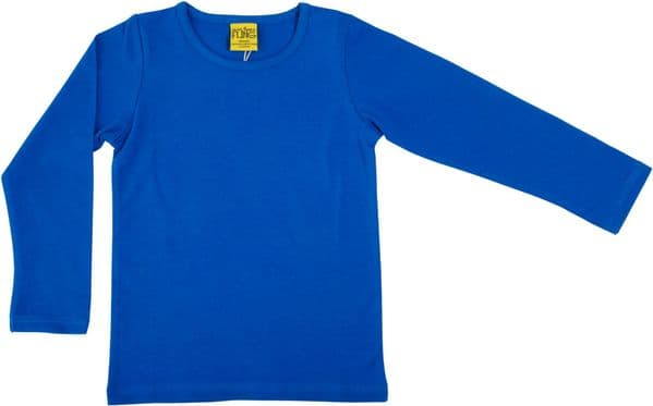 More Than a Fling MTAF Long Sleeve Top Blue