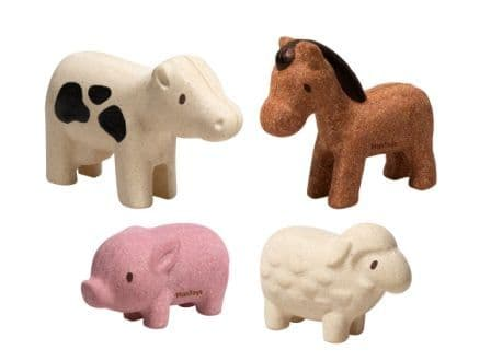 Plan Toys Farm Animal Set