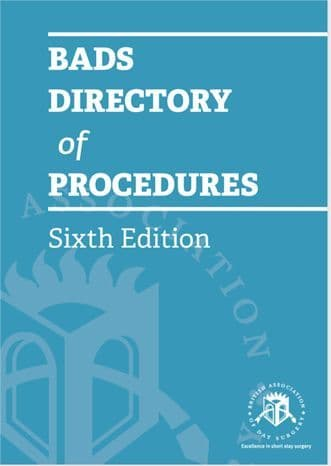 BADS Directory of Procedures 6th Edition