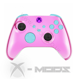 XBOX SERIES RAPIDFIRE CONTROLLER  - CHROME PINK - CARNAGE 2.0 MOD
