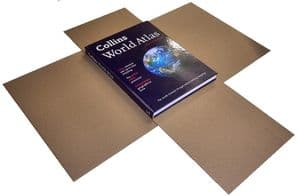 Book Mailer - SizeA4 - 3mm Thick - 25 Pack- 305x215x80mm  - Large Books & Prints