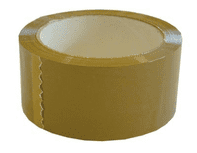 Buff Brown Parcel Tape - 50mm X 66m - 1 Roll or Box