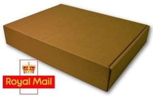 Royal Mail Small Parcel 320x120x40mm Postage Box 25 Pack High Quality Die Cut