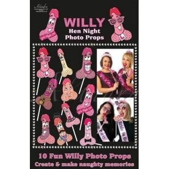 10 fun willy photo props