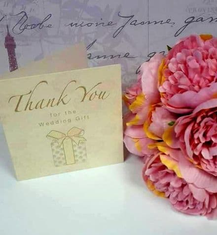 10 wedding thank you cards