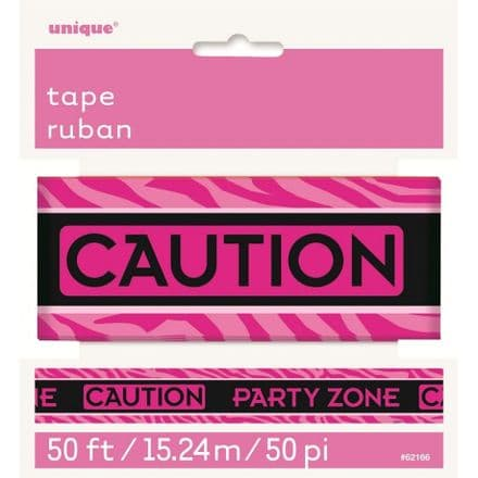 Caution party zone tape 50m