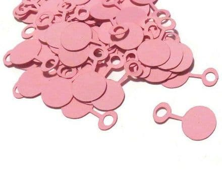 Large  bag of pink baby rattles confetti