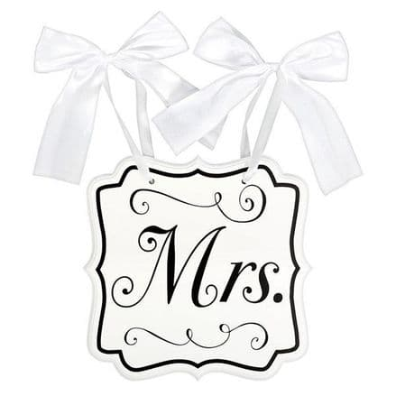 MRS MDF CHAIR SIGN
