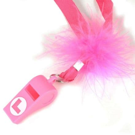 Pink hen party whistle