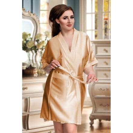 Silky Gold dressing gown