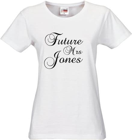 White Future Mrs ..........................? Surname
