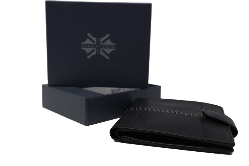 Charles Smith Nappa Leather Wallet