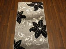 Modern Rugs Approx 5x2ft6 80cmx150cm Woven Thick best around Silver Lilys