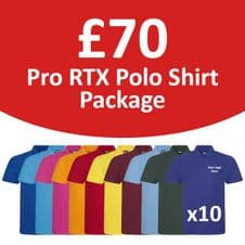 Pro RTX Polo Shirt Package