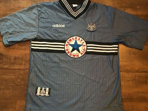 1996 1997 Newcastle United Away Football Shirt Large