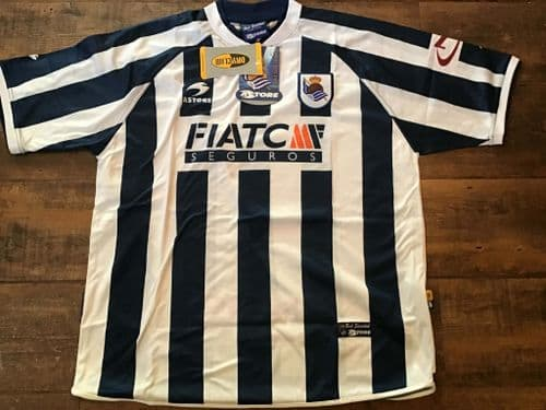 2003 2004 Real Sociedad BNWT Football Shirt 2XL