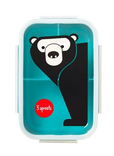 3 Sprouts Lunch (Bento) Box - Bear