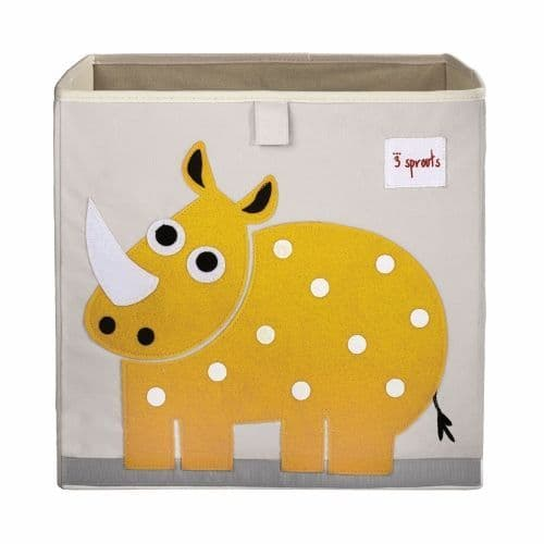 3 Sprouts Storage Box - Rhino Yellow