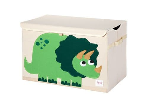 3 Sprouts Toy Chest - Dino Green