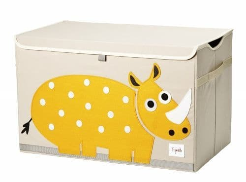 3 Sprouts Toy Chest - Rhino Yellow