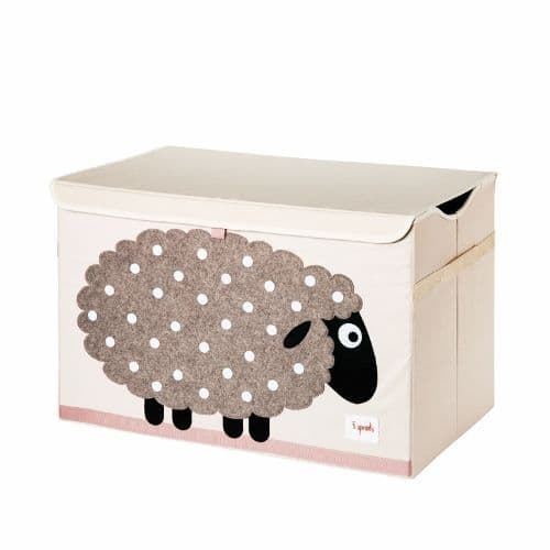 3 Sprouts Toy Chest - Sheep Beige
